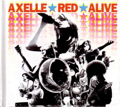 format live cd axelle red alive cd album at discogs