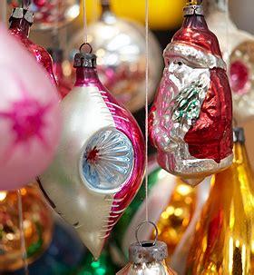 glasses ornaments vintage santa father christmas