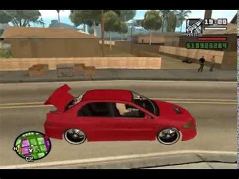diversão na rua com o carro de som tunado gta san youtube