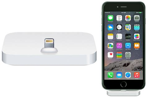 Apple Introduces Iphone by Apple Introduces A Lightning Dock For Iphone The Gadgeteer