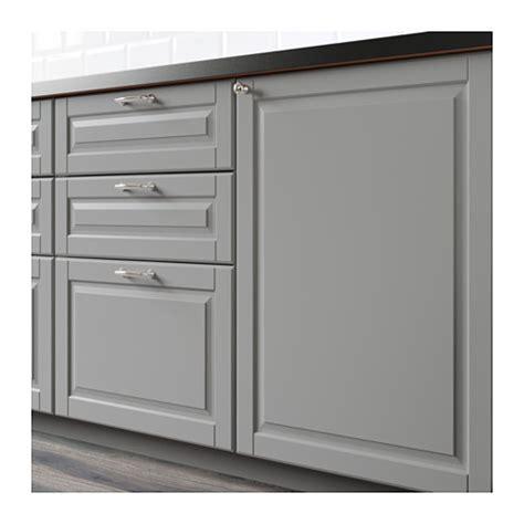 bodbyn front for dishwasher grey 45x80 cm ikea