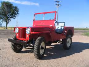 jeep cj2 description of the model photo gallery