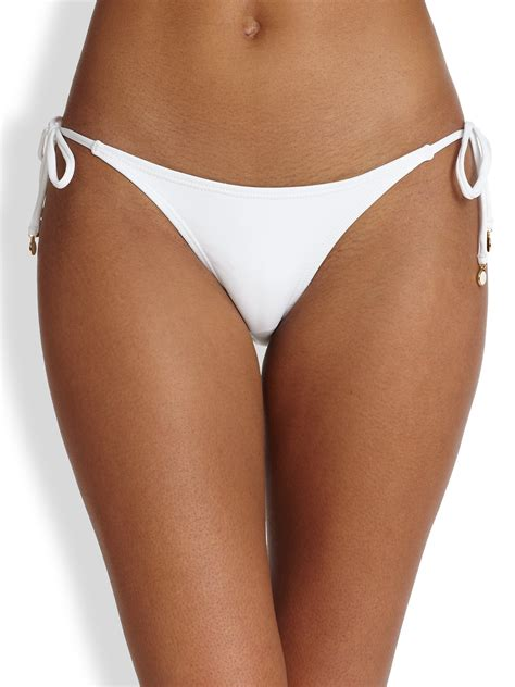 String For - ondademar string bottom in white no color lyst