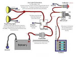 Wiring offroad lights with stock foglight harness auxlightschematic