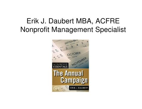 Mba Nonprofit Management by Building A Donor Cultivation Program At Your Ymca Naydo