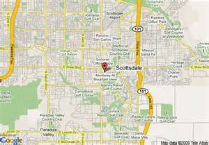map of scottsdale arizona map travel vacations