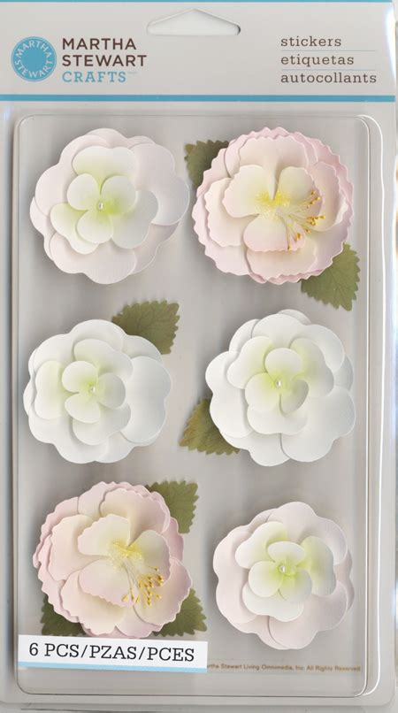 Martha Stewart Crafts Paper Flowers - martha stewart crafts vintage collection 3