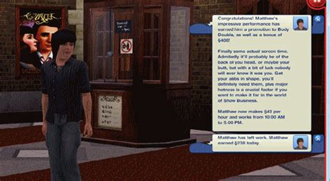 Sims Executive Mba Review by Mod The Sims Sims 3 Custom Career Show Business