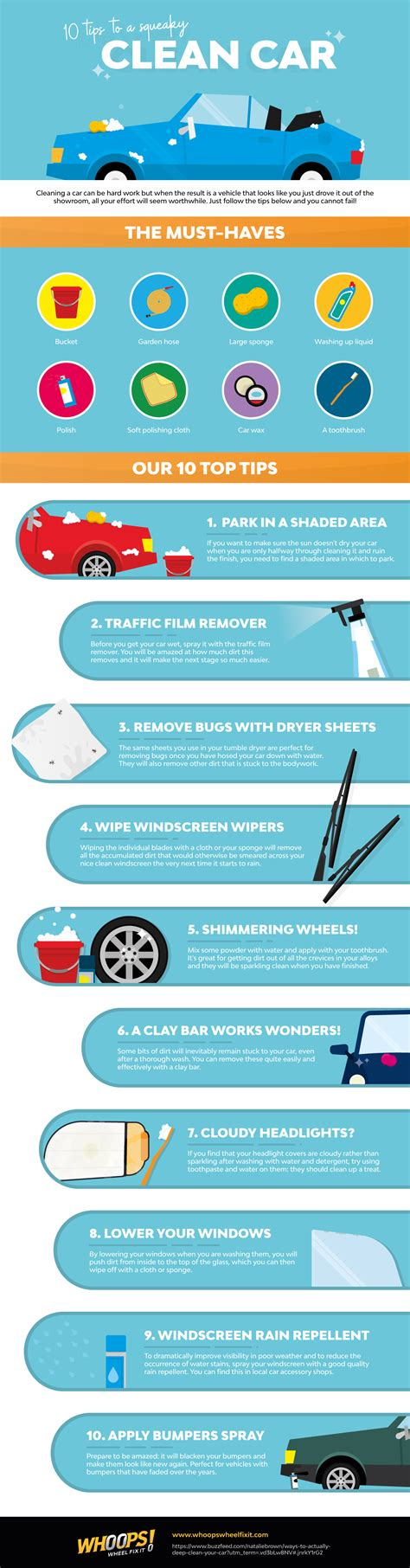 Tips For Keeping Your Car On The Road by Tips On How To Keep Your Car Squeaky Clean