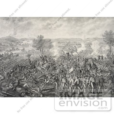 stock photography: the battle of gettysburg during the