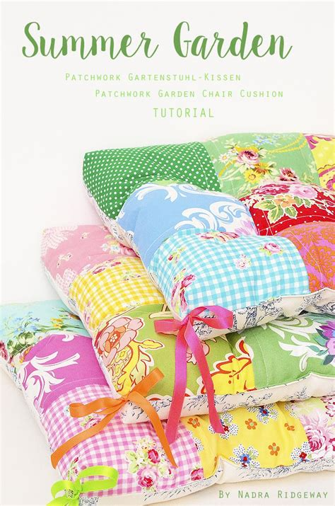 Patchwork Cushion Cover Tutorial - 25 best ideas about patchwork cushion on