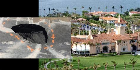 mar lago resort giant sinkhole to swallow trump s mar a lago resort