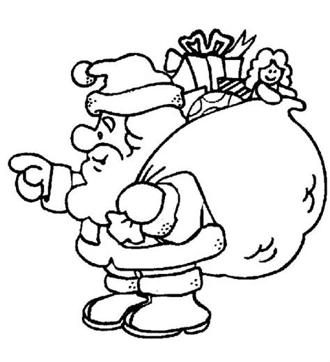 imagenes para colorear acerca de la navidad dibujos de papa noel para colorear 7 pasos