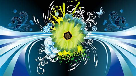 wallpaper design hd flower vector design hd wallpaper of vector