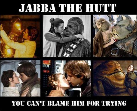 Star Wars Sex Meme - princess leia kissing everybody memey com