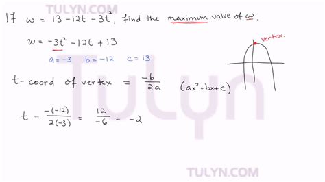how do you find the value of a boat finding the maximum value of a quadratic equation youtube