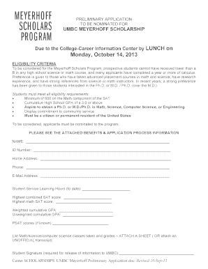 Udall Scholarship Letters Of Recommendation Blank Scholarship Application Forms Fill Printable Fillable Blank Pdffiller