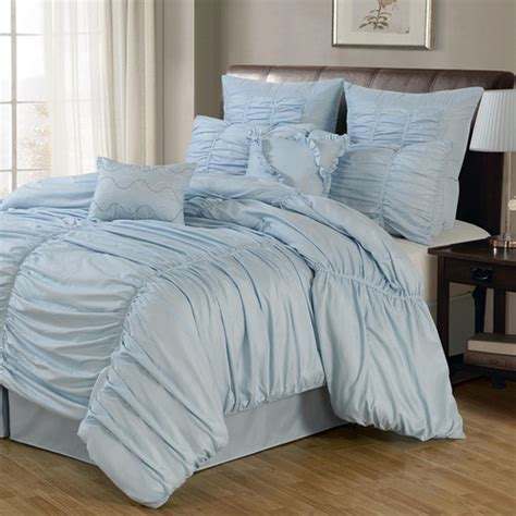 Wayfair Bedding Sets Lacozee Venetian Ruched 8 Comforter Set Reviews Wayfair