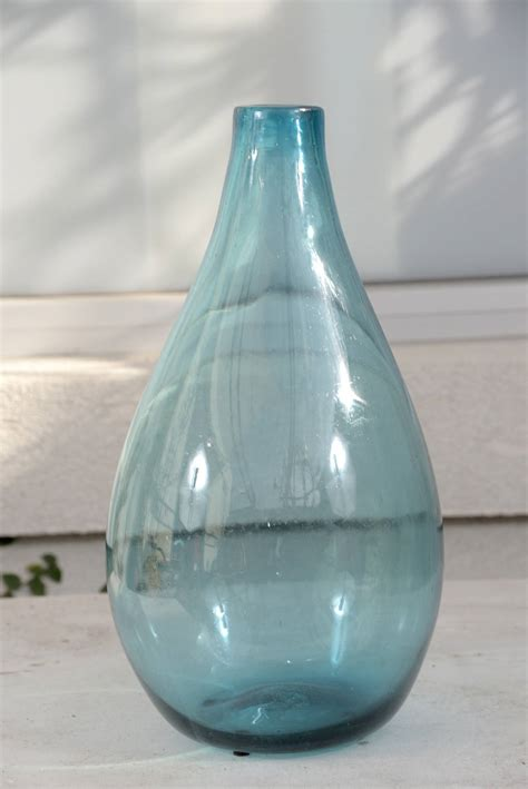 decorative glass vases vintage decorative blue glass vases for sale at 1stdibs