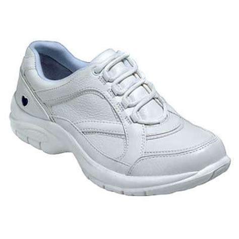 comfortable tennis shoes for nurses nurse mates 241504 women s glena white athletic nurse shoe