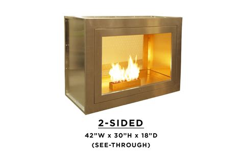 2 sided fireplace two sided fireplace design by