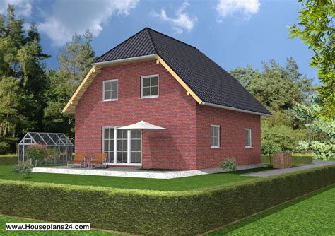Half Hip Roof pe 1 family home houseplan half hip roof