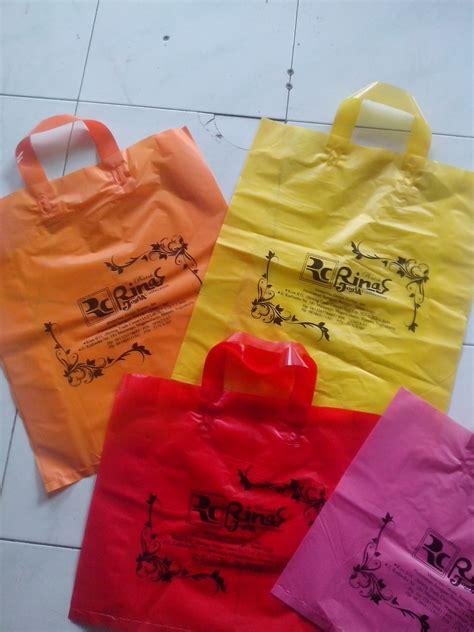 Jual Kantong Plastik Soft jasa cetak buat sablon tas plastik di kota semarang