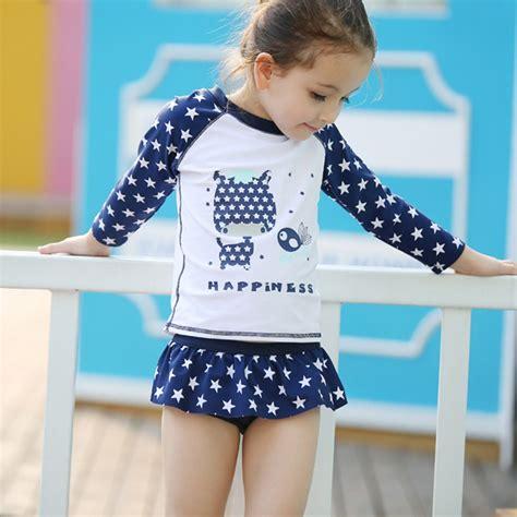 kids two piece swimwear high quality summer style kids swimwear baby girls two