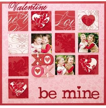 Valentines Scrapbooking Idea by 1000 Images About S Day Scrapbooking On