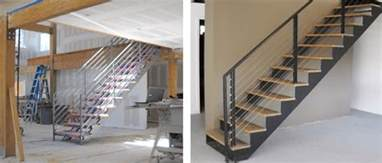 double stringer steel staircases with wood treads in nyc amp ct acadia stairs