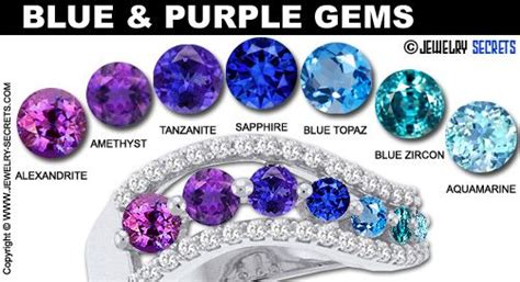 light blue stone name blue and purple gemstones i love the idea of a blue
