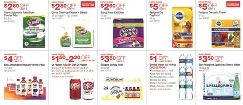 printable grocery coupons march 2016 march 2016 costco coupon book page 10 costco insider