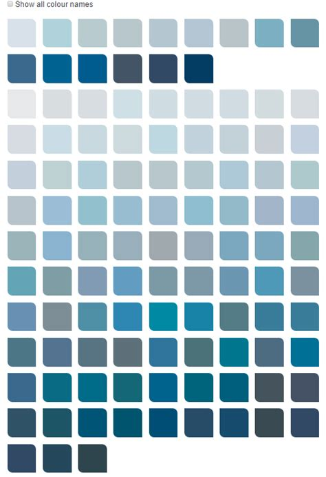 blue color chart dulux navy blue colours home decorating ideas interior