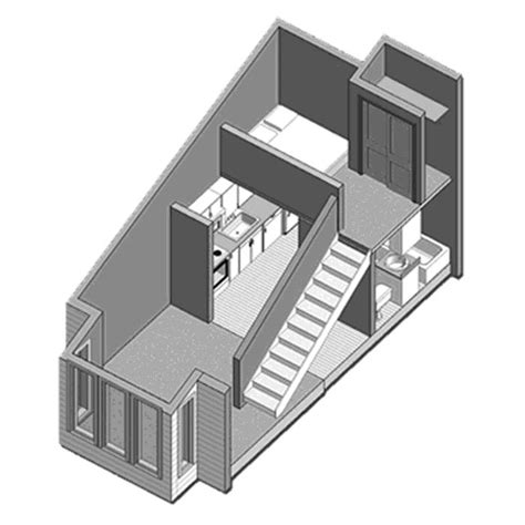 Loft Apartment Plans   loft apartment floor plan houses pinterest