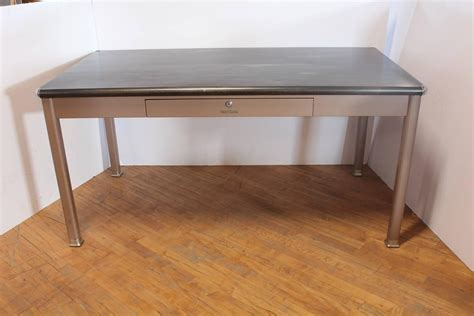 Shaw Walker Desk by 1950s Metal Desk By Shaw Walker For Sale At 1stdibs