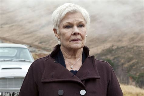 what products to use to get judi dench hair dame judi gets to keep her f bombs page six