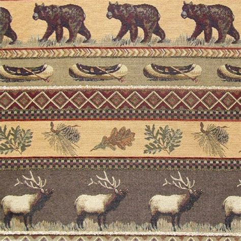 cabin upholstery fabric gatlin upholstery fabric mountain lodge cabin rustic bear