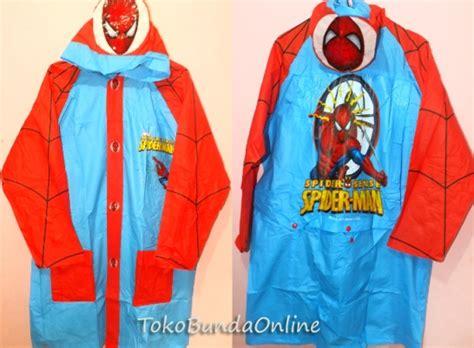 Jas Hujan Anak Karakter Hello Stelan Tas Punggung 1 jas hujan anak karakter toko bunda