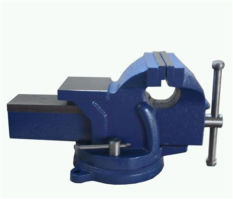 bench vice images foxhunter bench vice vise 5 inch 125mm jaw cl swivel