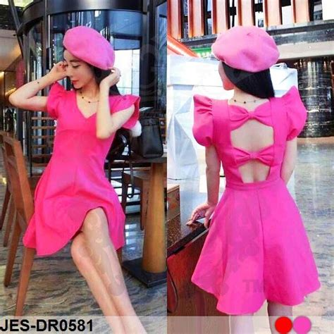 Jes Sb0046 Mini Dress Backless Import Korea Baju Gaun Pesta jual jes dr0581 backless dress mini import korea baju gaun terusan wanita suplier baju di