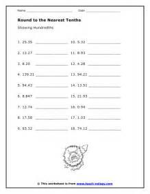 tenths and hundredths worksheet abitlikethis
