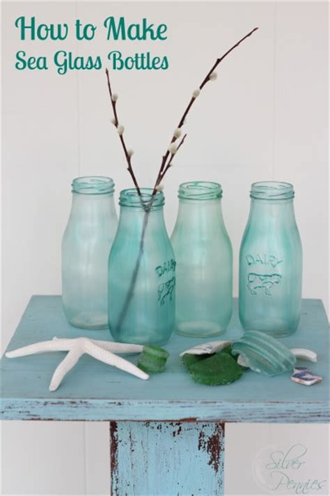 how to make glass how to make sea glass bottles finding silver pennies