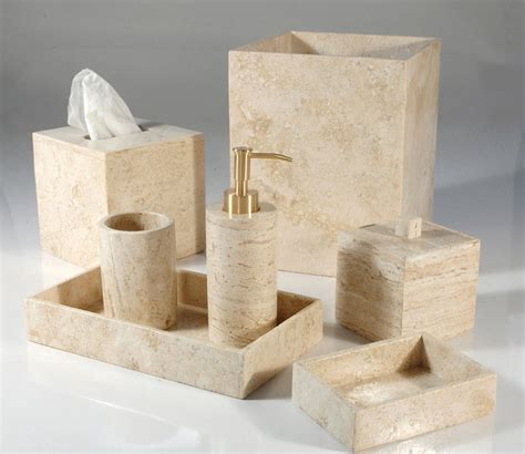 bathroom accessories on sale marble travertine bathroom sets mike and ally palazzo