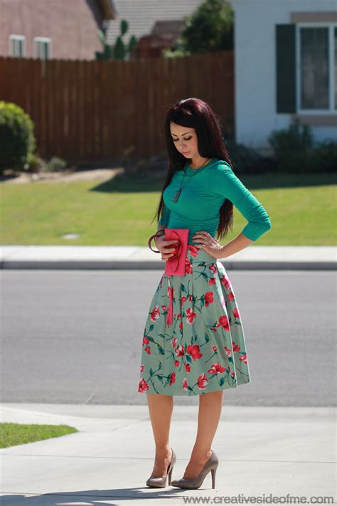 flower pattern outfit outfit with floral skirt creative side of me