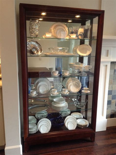 how to display crystal in china cabinet china cabinet display idea for the home pinterest
