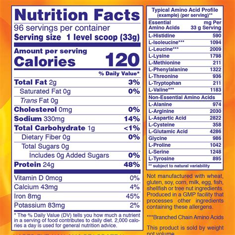 supplement facts nowledge now foods