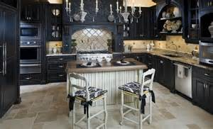 Kitchen Ideas With Black Cabinets by 23 Beautiful Kitchen Designs With Black Cabinets
