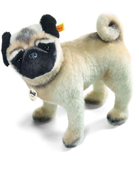 pug stuffed steiff lielou pug mohair stuffed animal steiff stuff