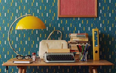 50s design 50s wallpaper by sanderson design sponge