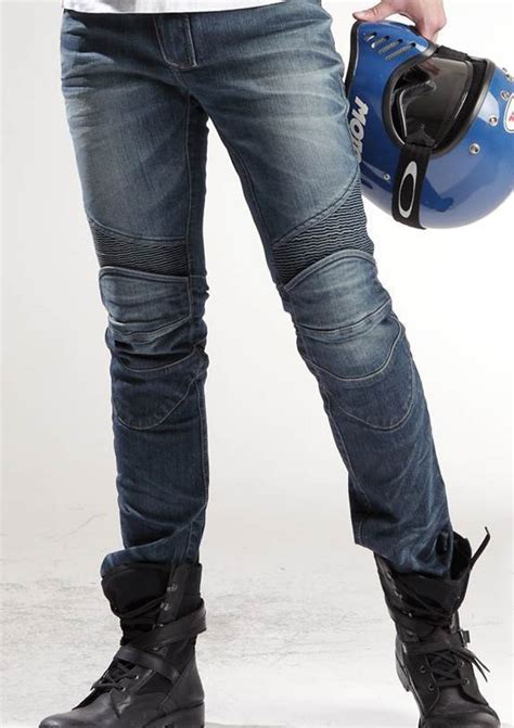 Motorrad Jeans Uglybros by Uglybros Featherbed Original Blue Denim Herren